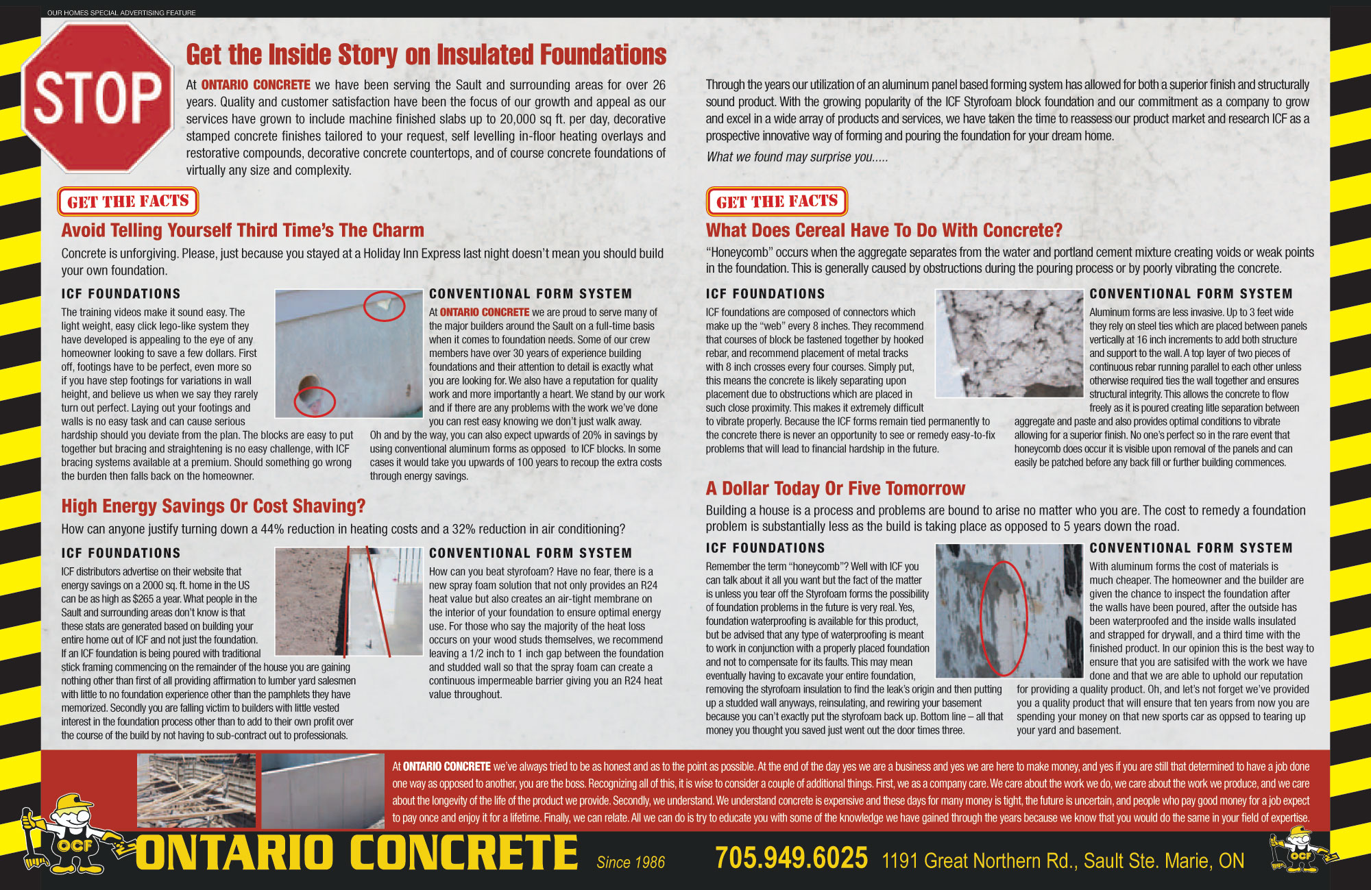 Get the Inside Story on Insulated Concrete Foundations